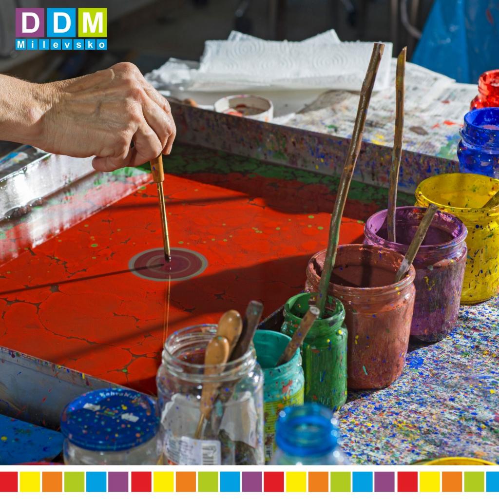 Prázdninová dílna- malování na vodu