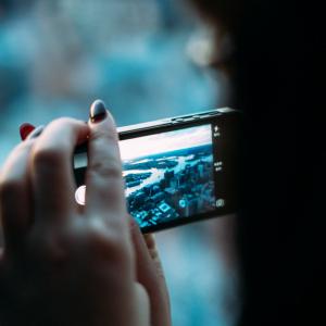 Nový kroužek - Focení mobilem
